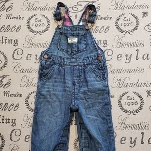 Oshkosh Overalls Flannel lined Size 18M